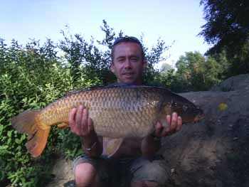 15lb Gold Valley carp - July 05