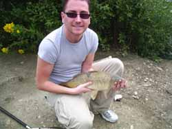 Paul with an 8lb common