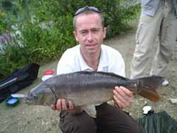 Paul with an 9lb mirror
