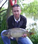 Paul with a 7lb common carp