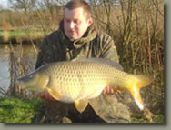 24lb Common carp form Longreed Lake in East Sussex