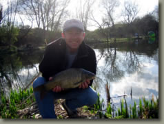 Coarse Fishing in South East England - I couldn't let Connor win now could I?