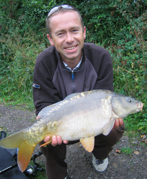 Royal Berkshire Fishery - 9lb mirror carp