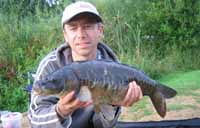 Twynersh Fishery - one of the adrenaline inducing margin caught carp
