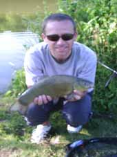 Your host with a 2lb Twynersh tench